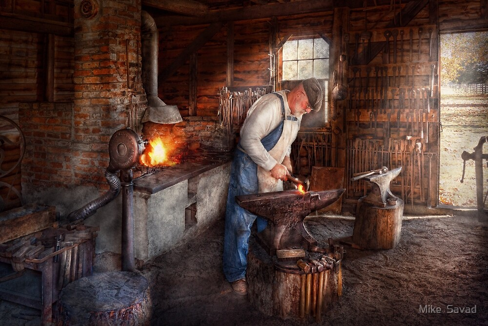 Blacksmith - The Smith by Michael Savad