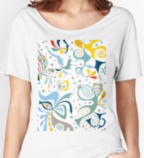 real deal white Women's Relaxed Fit T-Shirt
