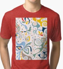 real deal white Tri-blend T-Shirt