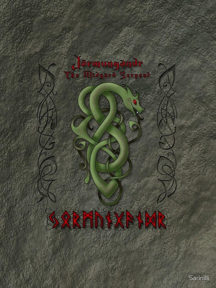Jörmungandr The Midgard Serpant by Sarinilli