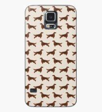Muster-Hunderassehaustier-Porträtgeschenke für Hundeliebhaber Hülle & Klebefolie für Samsung Galaxy