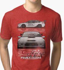 SVX NATION TRACK CAR RENDER Tri-blend T-Shirt