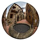 The well in Paciano, Umbria, Italy by Andrew Jones