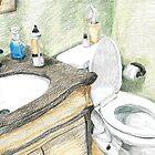 Bathroom by Lindsay Merwin