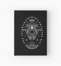 Wissen - Weiß / Schädel Notizbuch