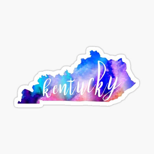 Kentucky - Aquarell Sticker