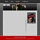 Sopranos Fansite by Voodoogfx
