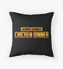 WINNER WINNER Throw Pillow