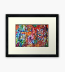 Abstract Reality Framed Print