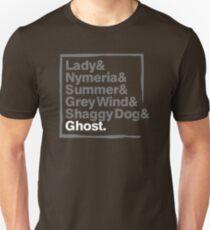 Stark Direwolves / Die Schattenwölfe des Haus Stark T-Shirt