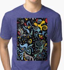 real deal black Tri-blend T-Shirt