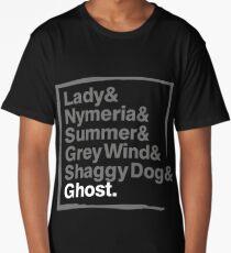 Stark Direwolves / Die Schattenwölfe des Haus Stark Long T-Shirt