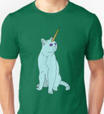 Uni Cat - Baby Blue T-Shirt