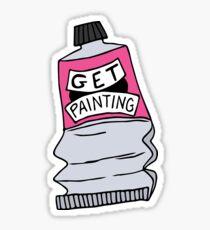 Holen Sie sich Gemälde Sticker