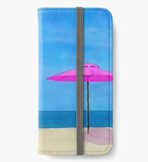 Beach Umbrellas iPhone Wallet