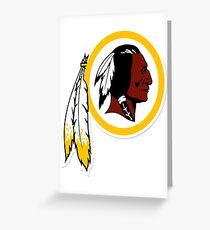 Washington Redskins NFL  Greeting Card