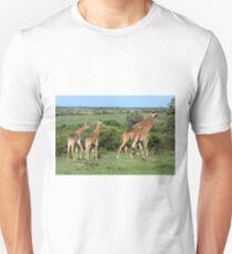 Masai Mara Giraffe Family  T-Shirt