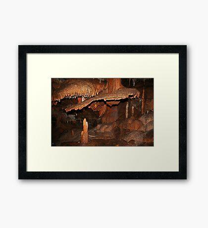 Feenhafte Höhle # 2 Gerahmter Kunstdruck