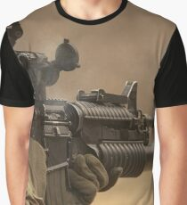 US Military Poster Graphic T-Shirt