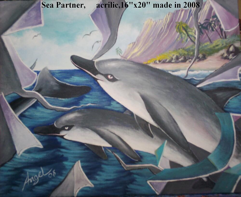 delfin( Dolphins ) by Angel Ruiz