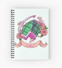 Soft Explosions Spiral Notebook
