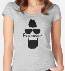 Paul Abrahamian - Friendship Women's Fitted Scoop T-Shirt