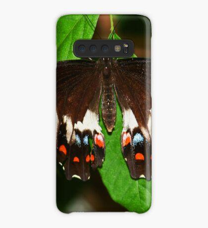 Schmetterling Hülle & Klebefolie für Samsung Galaxy