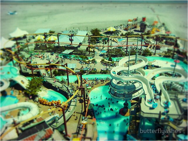 Wildwood water park  by butterflyashes
