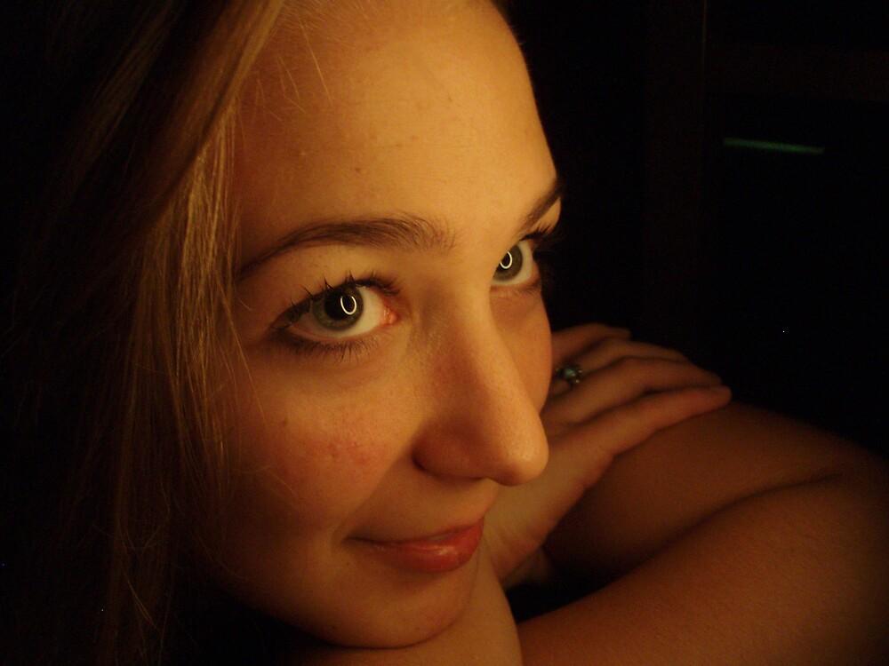 Rachel- circled eyes by Hannah Grubb