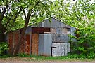 Rusty Old Shed (Scheune) von Evita