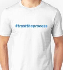 #trusttheprocess (blue) T-Shirt