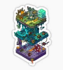 Dungeons and Isometric Dragons Sticker