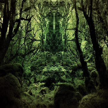 The Wise Lord Of The Woods  by potty