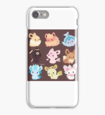 Eeveelutions - Chibi iPhone Case/Skin