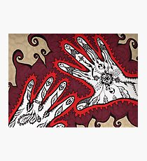 Graceful Hands Photographic Print