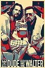 The Big Lebowski Revisited - The Dude and Walter by Serge Averbukh
