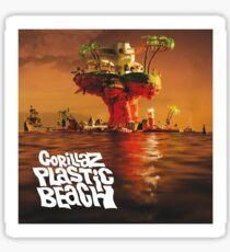 Gorillaz: Plastic Beach Sticker