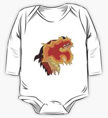 Flame One Piece - Long Sleeve