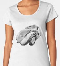Classics Passion 006 Hot Rod Women's Premium T-Shirt