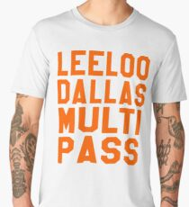 The Fifth Element - Leeloo Dallas Multi Pass Men's Premium T-Shirt