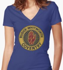 Rudge-Whitworth Coventry Women's Fitted V-Neck T-Shirt