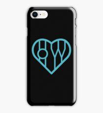 Oh Wonder Heart Strings (black) iPhone Case/Skin