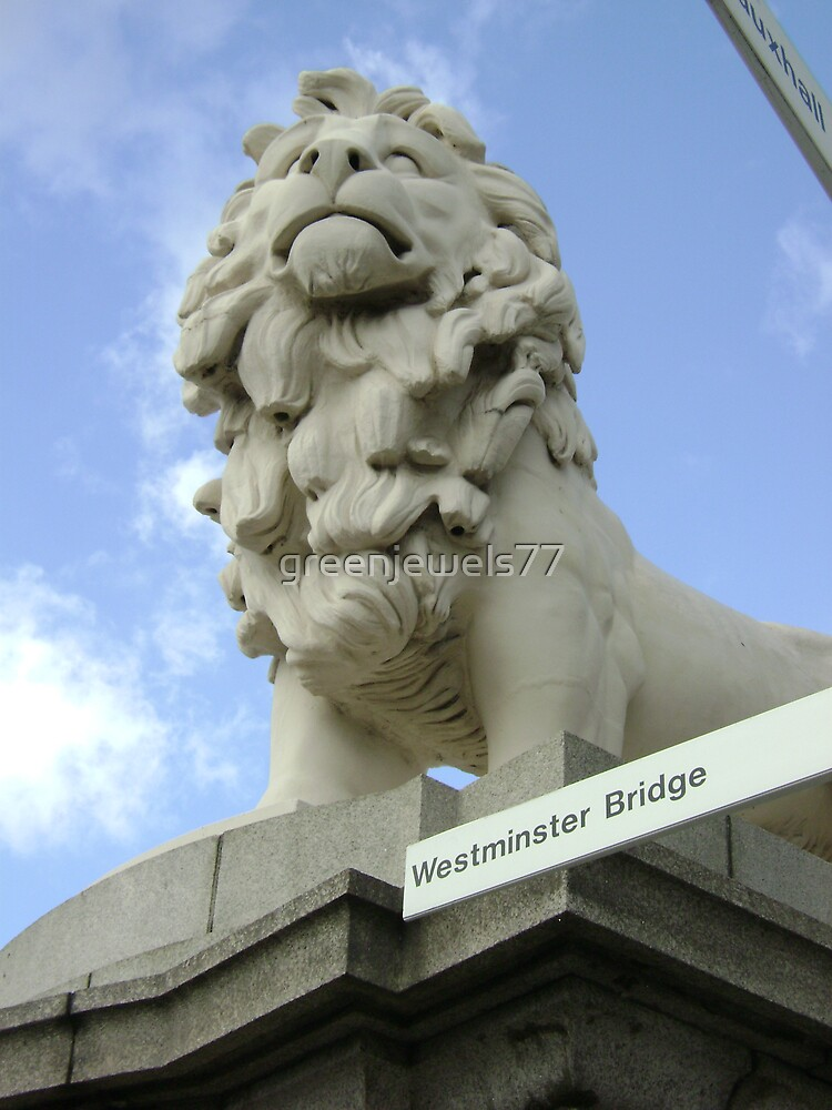 Lion of Westminster by greenjewels77