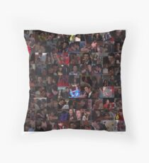 Finchel Collage - Many Items Available  Throw Pillow