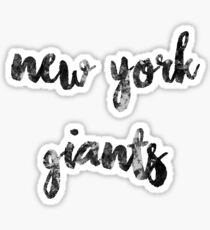 New York Giants- NFL Collection 2  Sticker