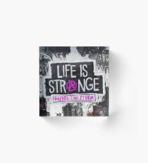 Life is Strange BtS Acrylic Block