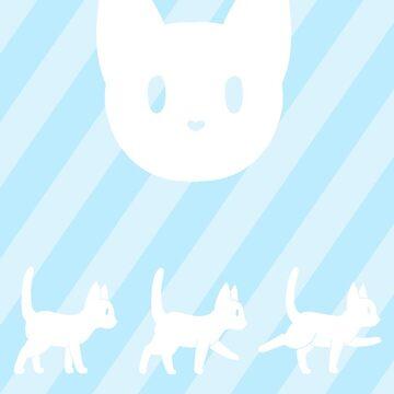 KittyStripes! by itwantsmedead
