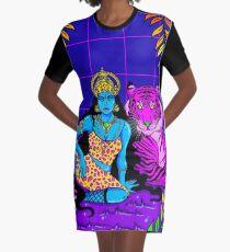 Dschungelkönigin T-Shirt Kleid