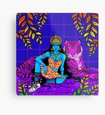 Jungle Queen Metal Print