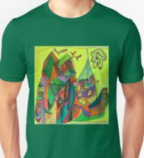 A Community Houseboat on the Sea T-Shirt